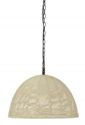 Jovan Paper Rope Pendant Light