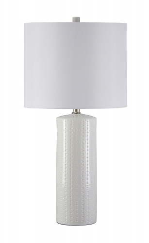 Steuben Ceramic Table Lamp