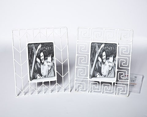 Achava Photo Frame - Set of 2 - White