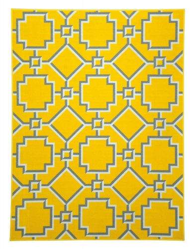 Zarek Medium Rug - Yellow