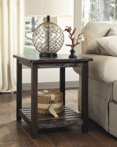 Mestler Rectangular End Table