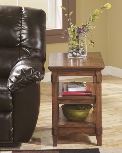 Cross Island Chair Side End Table