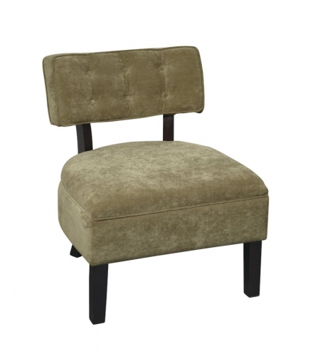 Avenue Six Curves Button Chair - Focus Ivy