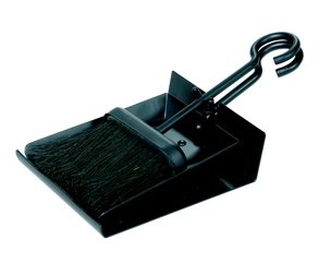Black Shovel And Brush Set With Pan-Uniflame
