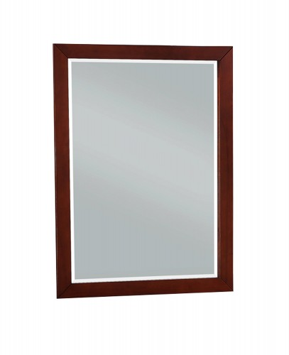 Homelegance Rowe Mirror - Dark Cherry