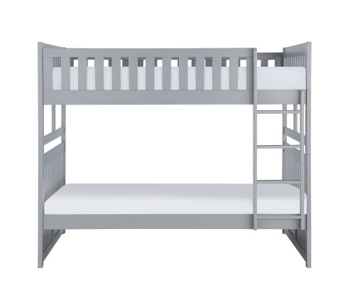 Orion Full Over Full Bunk Bed - Gray