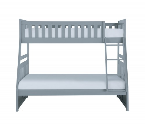 Orion Twin Over Full Bunk Bed - Gray