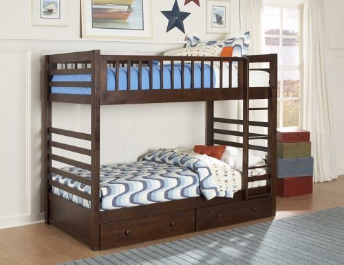 BE T Dreamland Twin Twin Bunk Bed Storage Drawers 1099