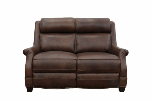 Warrendale Power Reclining Loveseat with Power Head Rests - Worthington Cognac/All Leather