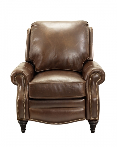 Avery Recliner Chair - Bradford Whiskey/All Leather