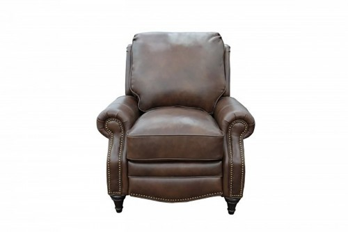Avery Recliner Chair - Worthington Cognac/All Leather