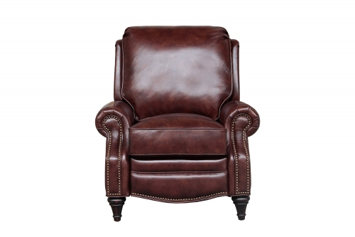 Avery Recliner Chair - Wenlock Fudge/All Leather