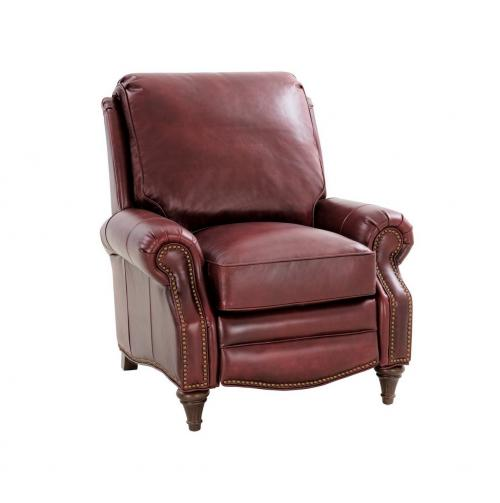 Avery Recliner Chair - Emerson Sangria/Top Grain Leather