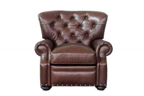 Sinclair Recliner Chair - Shoreham Chocolate/All Leather