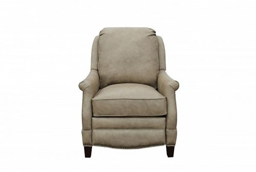 Ashebrooke Recliner Chair - York Taupe/All Top Rain Leather