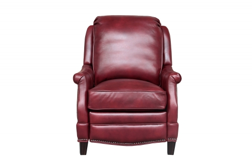 Ashebrooke Recliner Chair - Wenlock Carmine/All Leather