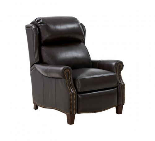 Meade Recliner Chair - Bennington Fudge/All Leather