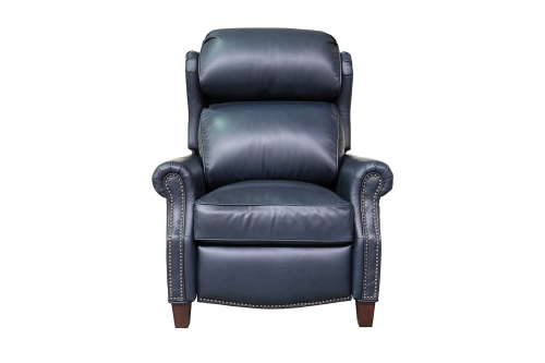 Meade Recliner Chair - Shoreham Blue/All Leather