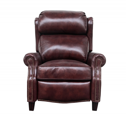 Meade Recliner Chair - Wenlock Fudge/all leather