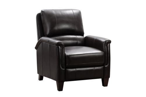 Quinn Recliner Chair - Bennington Fudge/All Leather