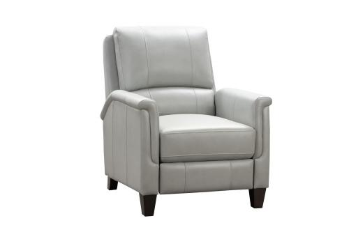 Quinn Recliner Chair - Corbett Chromium/All Leather