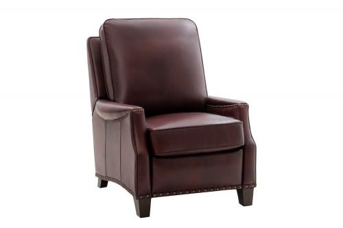 Ellis Recliner Chair - Emerson Sangria/Top Grain Leather