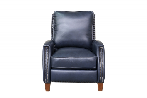 Melrose Recliner Chair - Shoreham Blue/All Leather