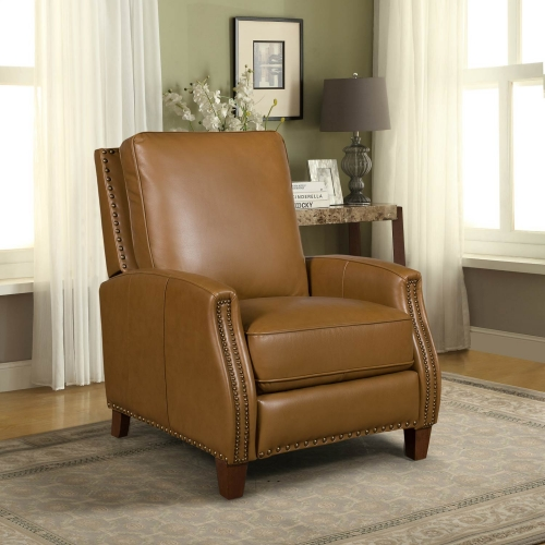 Melrose Recliner Chair - Shoreham Ponytail/All Leather