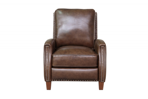 Melrose Recliner Chair - Wenlock Double Chocolate/All Leather