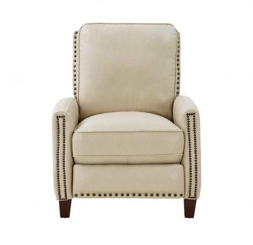 Melrose Recliner Chair - Barone Parchment/All Leather