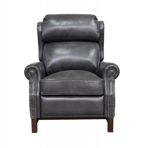 Thornfield Recliner Chair - Wrenn Gray/all leather