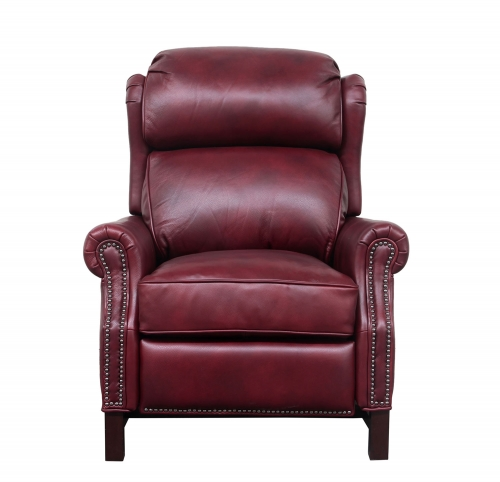Thornfield Recliner Chair - Wenlock Carmine/All Leather