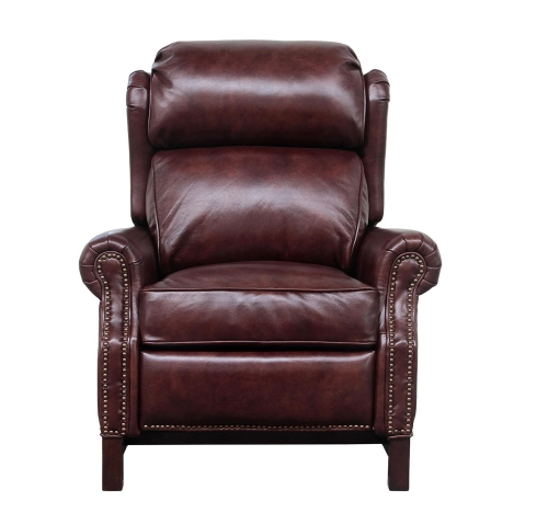 Thornfield Recliner Chair - Wenlock Fudge/All Leather