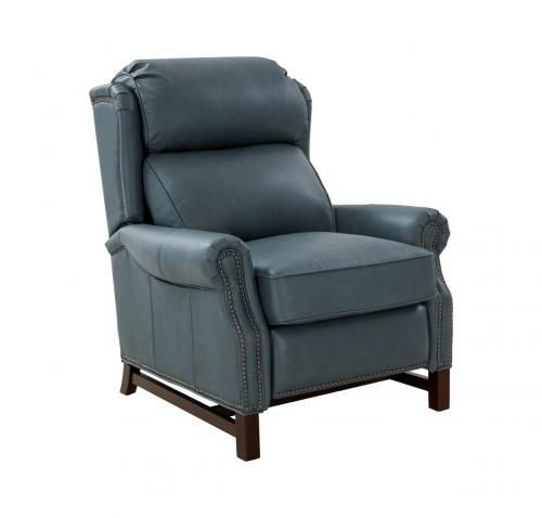 Thornfield Recliner Chair - Corbett Steel Gray/All Leather