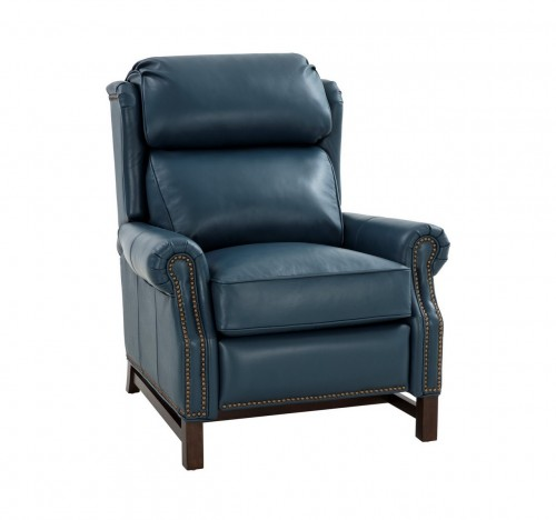 Thornfield Recliner Chair - Prestin Yale Blue/All Leather
