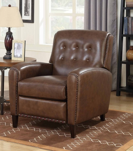Willoughby Recliner Chair - Wenlock Double Chocolate/All Leather