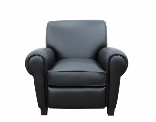 Edwin Recliner Chair - Wenlock Onyx/All Leather