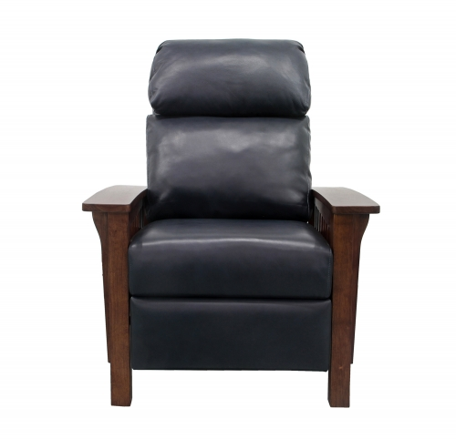 Mission Recliner Chair - Shoreham Blue/All Leather