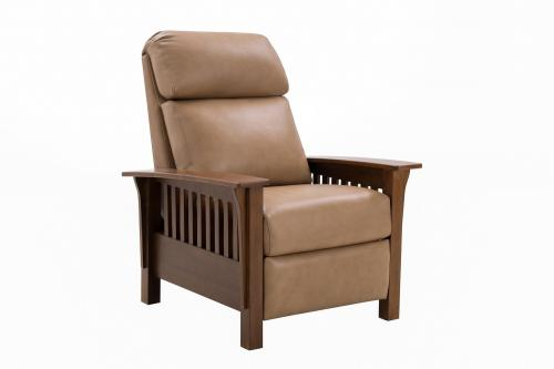 Mission Recliner Chair - Prestin Tuscan Sun/All Leather