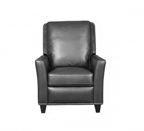 Sheridan Recliner Chair - Crackle Charcoal/performance fabric