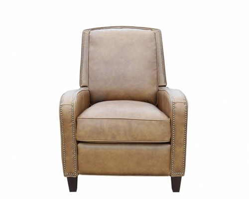 Knoxville Recliner Chair - Rustic Bourbon/All Top Rain Leather