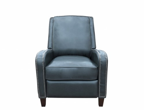 Knoxville Recliner Chair - Shoreham Gray/All Leather