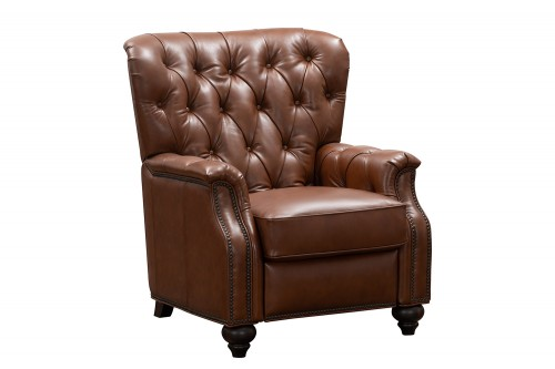 Lombard Recliner Chair - Ashford Bitters/All Leather