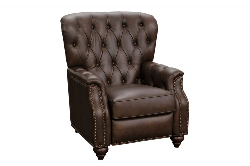 Lombard Recliner Chair - Ashford Walnut/All Leather