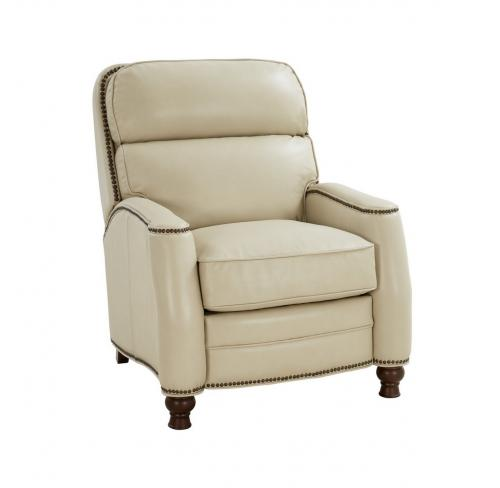 Townsend Recliner Chair - Barone Parchment/All Leather