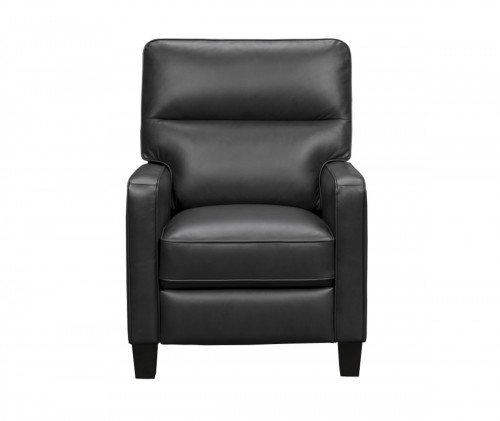 Stewart Recliner Chair - Erin Blue/Leather Match