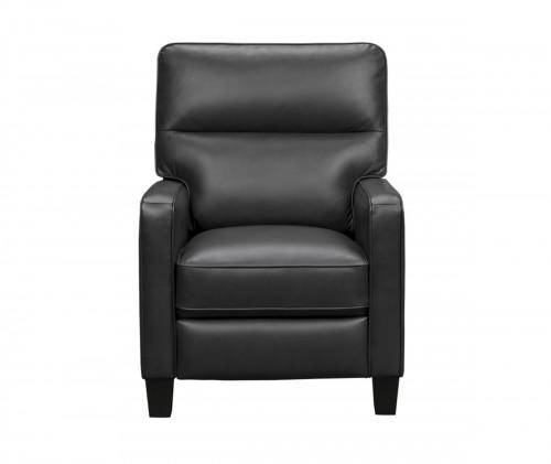 Stewart Recliner Chair - Erin Blue/Leather Match