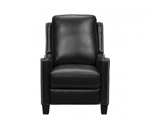 Maison Recliner Chair - Brianna Ebony/Leather Match