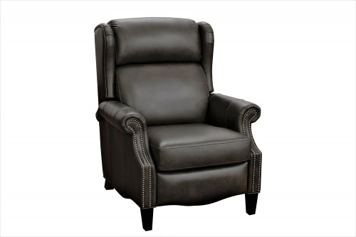 Philadelphia Recliner Chair - Ashford Graphite/All Leather