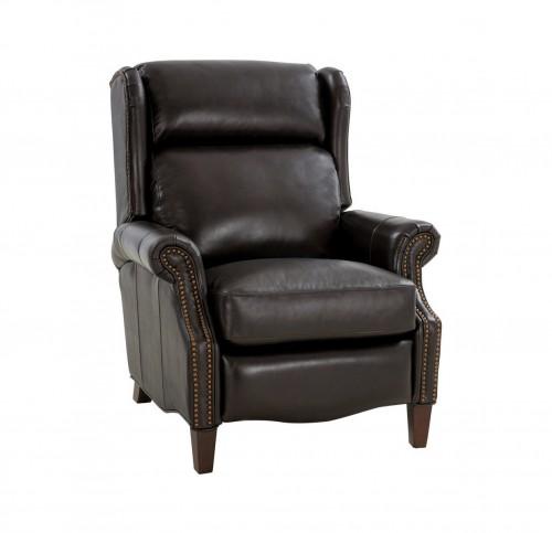 Philadelphia Recliner Chair - Bennington Fudge/All Leather